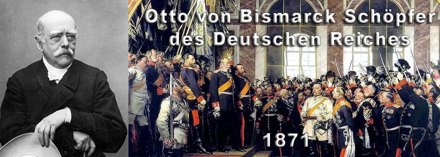 Otto von Bismarck, Schöpfer des Nationalstaats