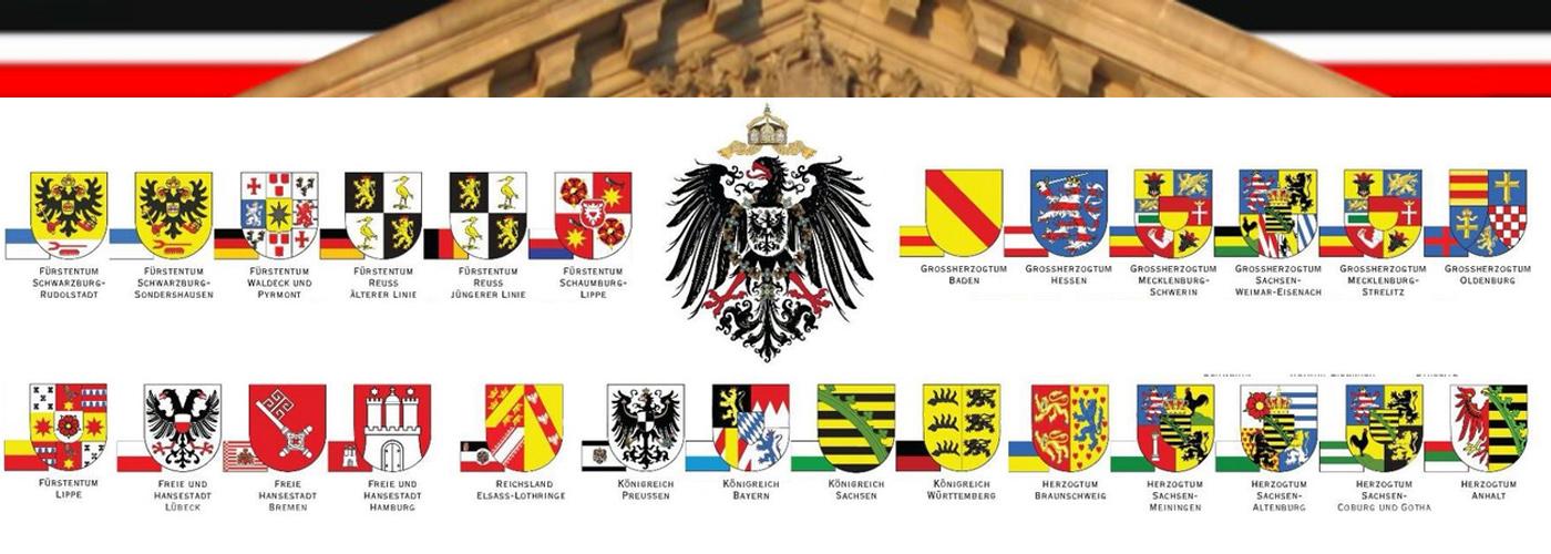 Nationalstaat Deutschland und seine Bundesstaaten wiederherstellen