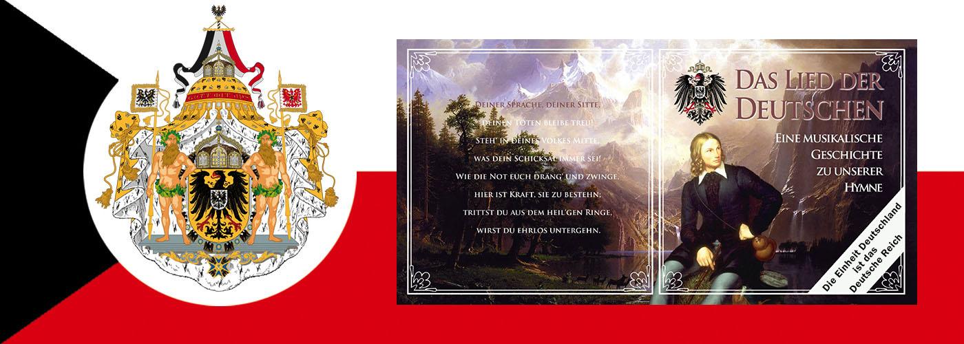 Geschichte der deutschen Nationalhymne, dem Deutschlandlied, das Lied der Deutschen